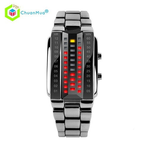 Đồng Hồ Unisex Skmei 1013 Led Dance Music DHA547 - Trắng Size Nhỏ