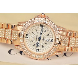 Đồng hồ thời trang nữ chính hãng OMEDLY - đính đá Size M - OME.05