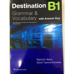 Destination Grammar B1 Students Book with Key - NXB Thời Đại