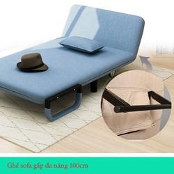 Ghế sofa gấp đa năng 1m - Ghế sofa gấp đa năng- ghế sofa phòng khách- ghế sofa 1m - ghế sofa gấp 1m - 1.GSFDN
