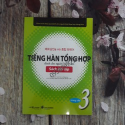 Tiếng Hàn tổng hợp dành cho người Việt Nam Trung cấp 3 Sách bài tập