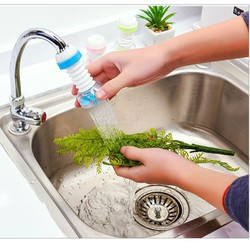 Combo 2 Vòi lọc nước co giãn tiết kiệm nước