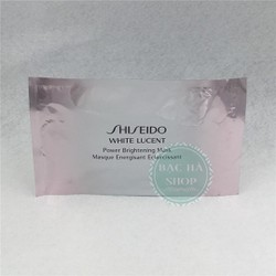 Shiseido Mặt Nạ Giấy Trắng Da White Lucent Mask