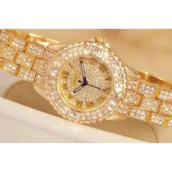 Đồng hồ thời trang nữ chính hãng OMEDLY - đính đá Size S - OME.01