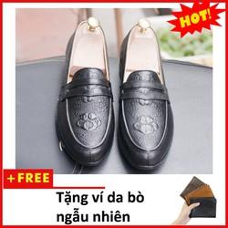 Giày Lười Nam   shop giày nam   giày nam   giày thời trang  nam  L460