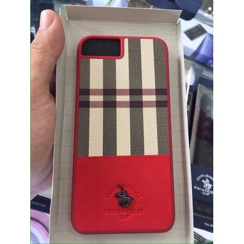 Ốp lưng da iphone 8 santa barbara - plaide series