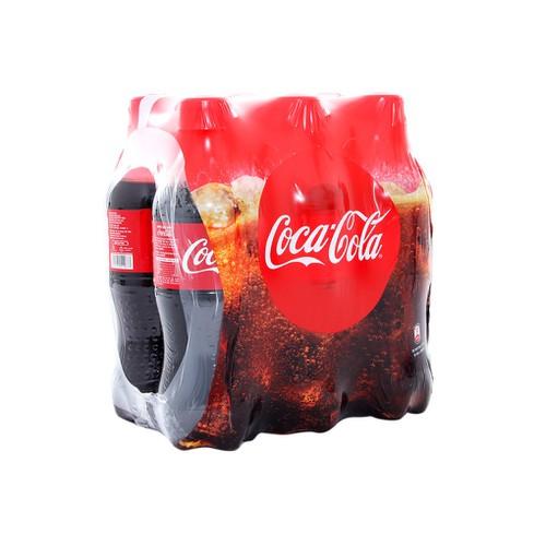 LỐC 6 chai Nước ngọt Coca Cola chai 330ml