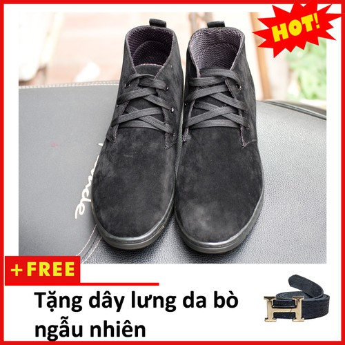 Giày boot nam | Giày nam cổ cao M443-TL-DENBUCK