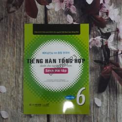 Tiếng Hàn tổng hợp dành cho người Việt Nam Cao cấp 6 Sách bài tập