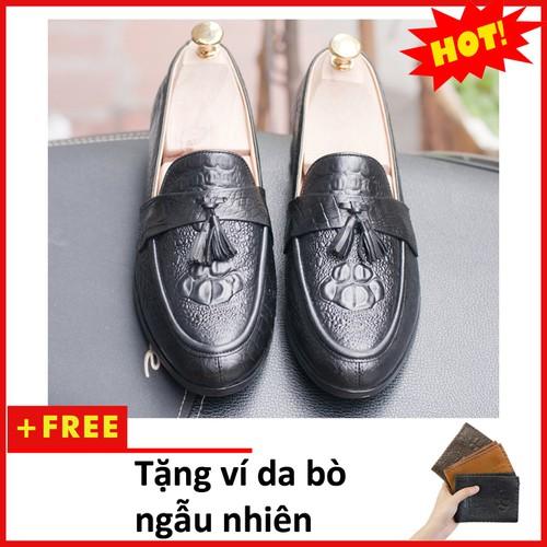 Giày Lười Nam Da Bò | Giày da nam| L459-V