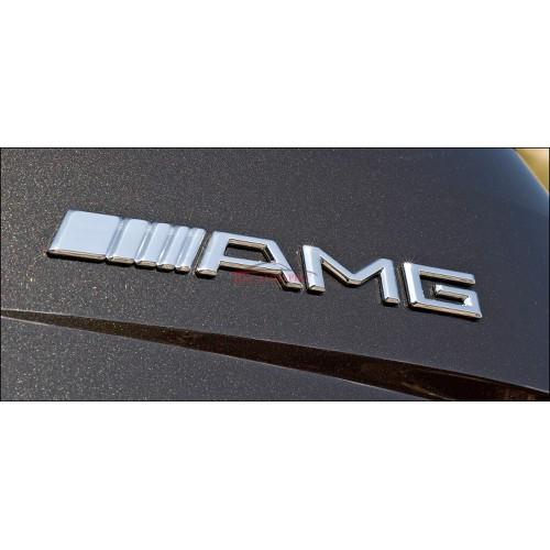 Tem Nổi kim loại 3D AMG  sport mạ crom...