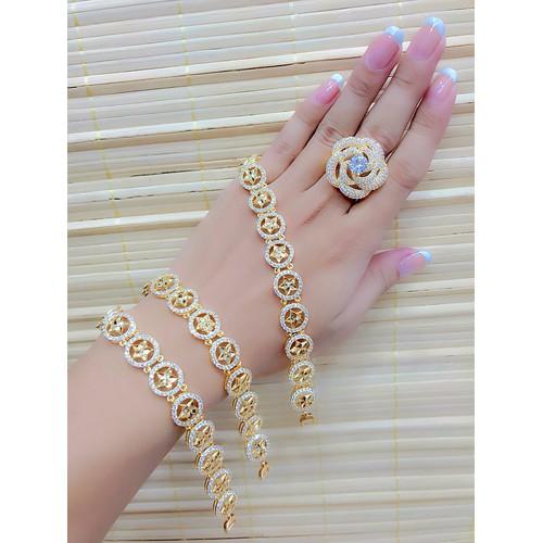 lắc tay nữ ngôi  sao dát vàng 18k - 10661786 , 10604919 , 15_10604919 , 279000 , lac-tay-nu-ngoi-sao-dat-vang-18k-15_10604919 , sendo.vn , lắc tay nữ ngôi  sao dát vàng 18k