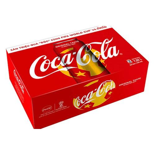 Thùng Nước ngọt Coca Cola lon 330ml 24 lon - 10662685 , 10608776 , 15_10608776 , 218000 , Thung-Nuoc-ngot-Coca-Cola-lon-330ml-24-lon-15_10608776 , sendo.vn , Thùng Nước ngọt Coca Cola lon 330ml 24 lon