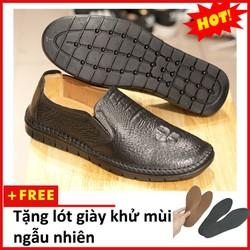 Giày lười nam   shop giày nam da đẹp   giày da nam   L451-L+L