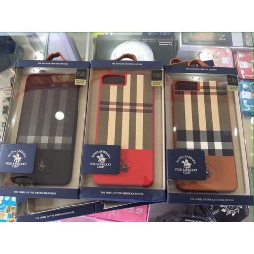 Ốp lưng da iphone 8 plus santa barbara - plaide series