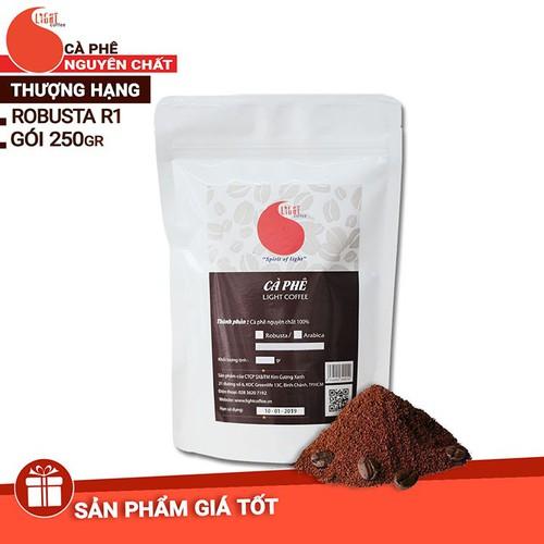 Cà phê bột Arabica nguyên chất Light Coffee - 250g