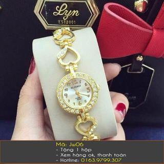 Đồng hồ lắc tay nữ trái tim - 363 thumbnail