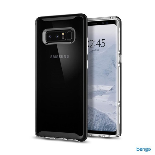 Ốp lưng Samsung Galaxy Note 8 SPIGEN Neo Hybrid Crystal - Black - 10665693 , 10622308 , 15_10622308 , 699000 , Op-lung-Samsung-Galaxy-Note-8-SPIGEN-Neo-Hybrid-Crystal-Black-15_10622308 , sendo.vn , Ốp lưng Samsung Galaxy Note 8 SPIGEN Neo Hybrid Crystal - Black