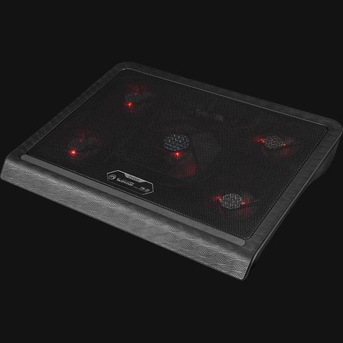 Đế tản nhiệt  Marvo  FN-33 có 5 quạt cho laptop từ 14 đến 17 inch - 5053306 , 10622020 , 15_10622020 , 270000 , De-tan-nhiet-Marvo-FN-33-co-5-quat-cho-laptop-tu-14-den-17-inch-15_10622020 , sendo.vn , Đế tản nhiệt  Marvo  FN-33 có 5 quạt cho laptop từ 14 đến 17 inch