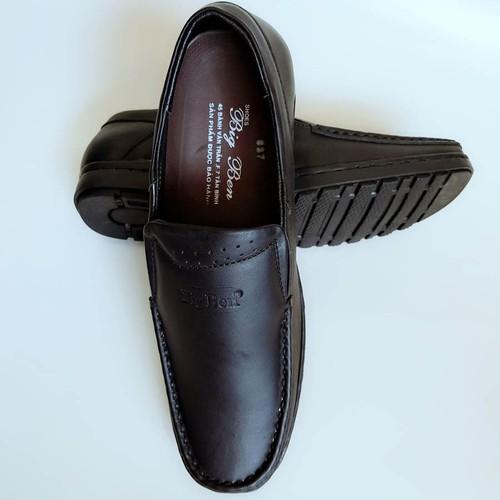 Giày Mọi Nam BIGBEN da bò thật cao cấp màu Đen GM7 - 7813126 , 10630505 , 15_10630505 , 645000 , Giay-Moi-Nam-BIGBEN-da-bo-that-cao-cap-mau-Den-GM7-15_10630505 , sendo.vn , Giày Mọi Nam BIGBEN da bò thật cao cấp màu Đen GM7