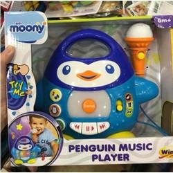 Đàn nhạc chim cánh cụt kèm mic  Winfun Quà Tặng từ Moony
