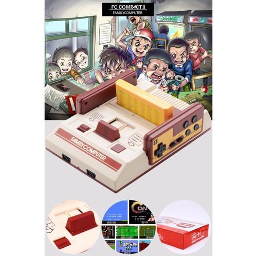 Máy chơi game 4 nút FamilyComputer tăng kèm 1 băng