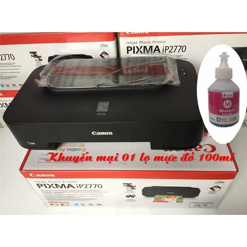 Máy in phun màu Canon Pixma IP 2770 + tặng 01 lọ mực đỏ 100ml - 4367392 , 10629445 , 15_10629445 , 1980000 , May-in-phun-mau-Canon-Pixma-IP-2770-tang-01-lo-muc-do-100ml-15_10629445 , sendo.vn , Máy in phun màu Canon Pixma IP 2770 + tặng 01 lọ mực đỏ 100ml