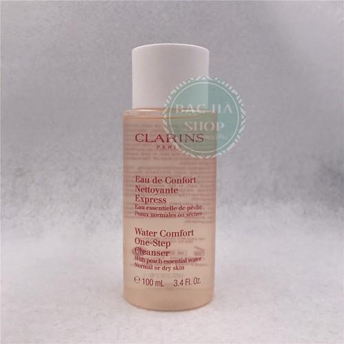 Clarins Nước Tẩy Trang Đào Water Comfort One Step Cleanser 100ml