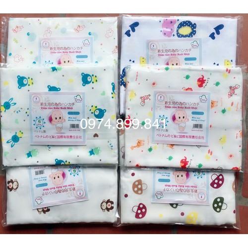 khăn tắm hoa 6 lớp xuất Nhật