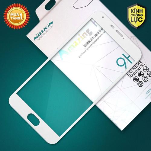 Miếng kính cường lực Meizu Pro 5 Full Nillkin trắng