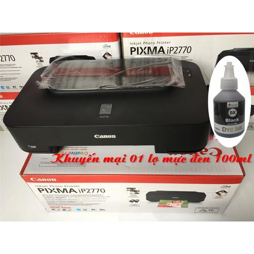 Máy in phun màu Canon Pixma IP 2770 + tặng 01 lọ mực đen - 4367384 , 10629405 , 15_10629405 , 1980000 , May-in-phun-mau-Canon-Pixma-IP-2770-tang-01-lo-muc-den-15_10629405 , sendo.vn , Máy in phun màu Canon Pixma IP 2770 + tặng 01 lọ mực đen