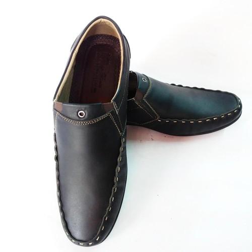 Giày Mọi Nam BIGBEN da bò thật cao cấp màu Đen - 10649547 , 10630102 , 15_10630102 , 649000 , Giay-Moi-Nam-BIGBEN-da-bo-that-cao-cap-mau-Den-15_10630102 , sendo.vn , Giày Mọi Nam BIGBEN da bò thật cao cấp màu Đen