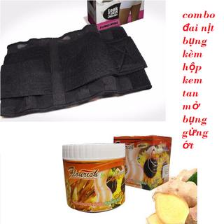 Combo kem tan mỡ bụng thái lan và đai nịch bụng - C9598 thumbnail