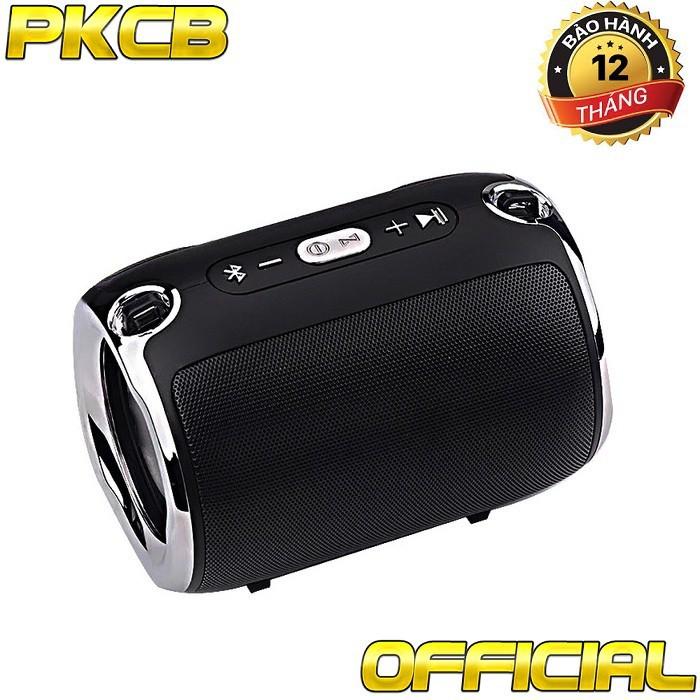 Loa Bluetooth giá rẻ gắn thẻ nhớ usb cho điện thoại, laptop PKCB-518 1