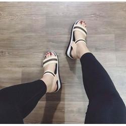 giày sandal đế bánh mì cute