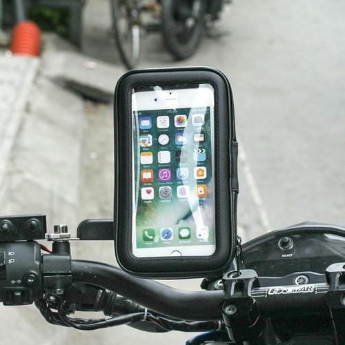 Giá đỡ Điện thoại Chống Nước Cho Xe Máy