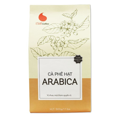 [KÈM QUÀ] Cà Phê hạt Arabica nguyên chất - Light Coffee - 500g