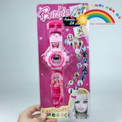 Đồng hồ chiếu tường Barbie  KD224