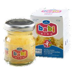 Tổ yến chưng bổ sung dinh dưỡng cho trẻ em - Babi Bird 42gr