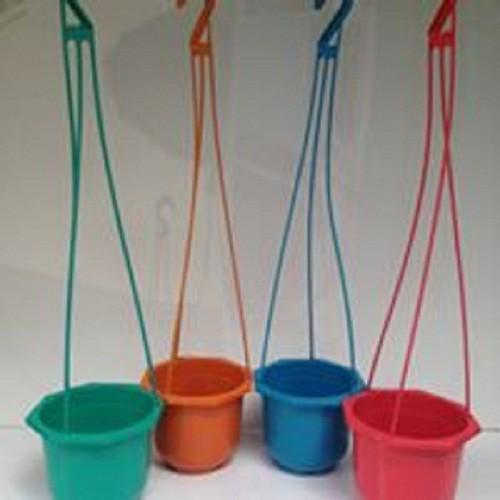 10 Chậu trồng hoa   Chậu trồng cây có móc treo - 10668966 , 10637214 , 15_10637214 , 75000 , 10-Chau-trong-hoa-Chau-trong-cay-co-moc-treo-15_10637214 , sendo.vn , 10 Chậu trồng hoa   Chậu trồng cây có móc treo