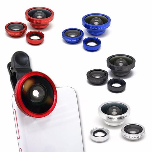 Lens chụp hình 3 in 1 cho điện thoại xã hàng