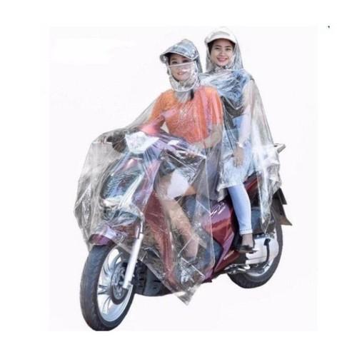 [ XẢ KHO ] áo mưa mặc 2 người