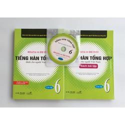 Giáo Trình và Bài tập Tiếng Hàn Tổng hợp dành cho người Việt Nam 6
