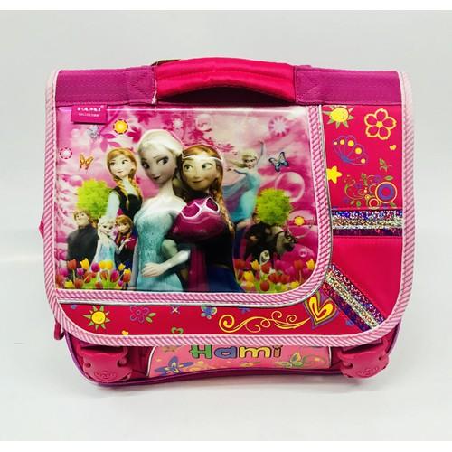 Cặp học sinh cho bé gái cấp 1 hình công chúa Elsa