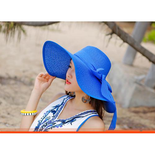 mũ cói rộng vành, mũ đi biển đẹp, nón cói rộng vành, nón đi biển
