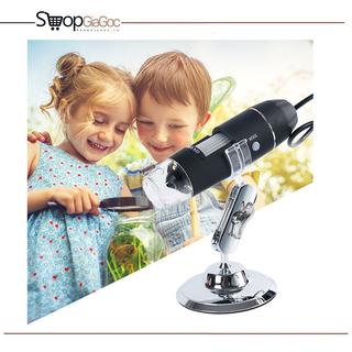 Bộ Kính Hiển Vi Kỹ Thuật Số Digital Microscope 1000X Hỗ Trợ Kết Nối OTG Với Điện Thoại Android - KÍNH HIỂN VI 1000X thumbnail