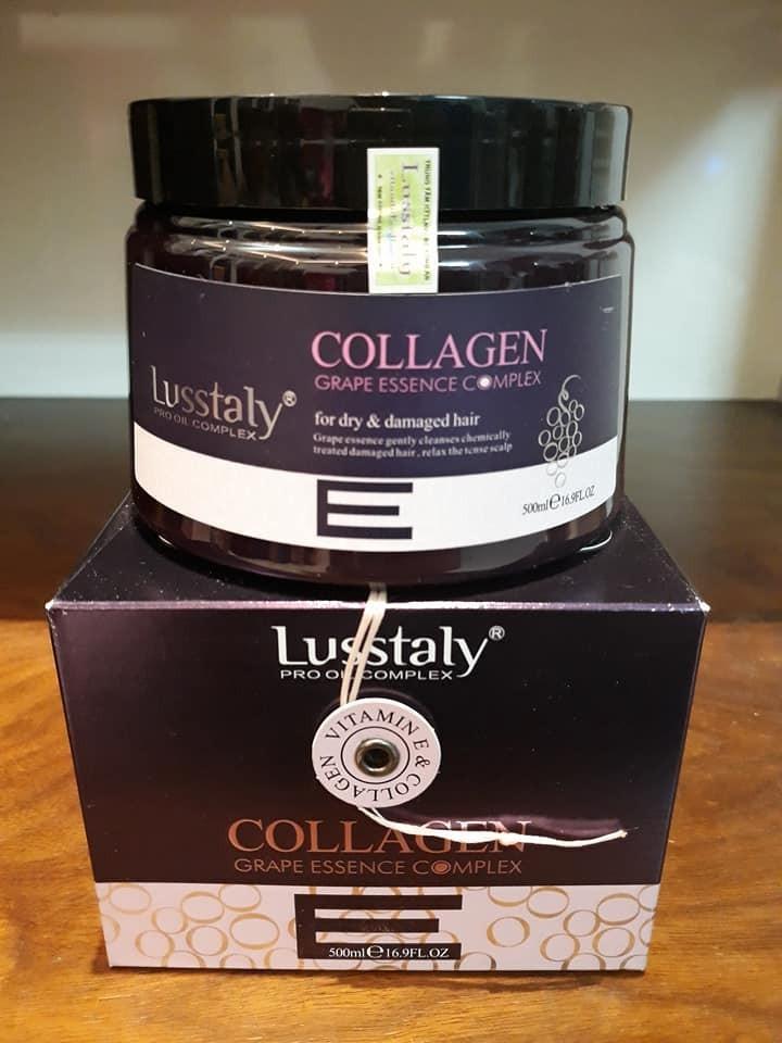 Hấp phuc hồi tóc  Lusstaly Italy 500ml 3