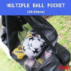 Túi đựng bóng đá, bóng chuyền, bóng rổ 15 -20 quả siêu rộng - POKI