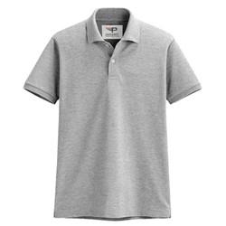 Áo thun nam cổ bẻ chuẩn mọi phong cách Pigofashion PG19 - Màu xám - 10 màu