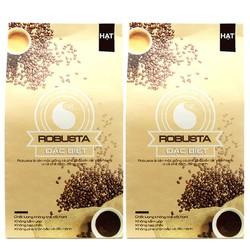 [KÈM QUÀ] 2 gói 500g Cà phê hạt Robusta nguyên chất Đặc biệt - Light Coffee